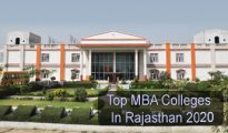 Top MBA Colleges in Rajasthan 2020