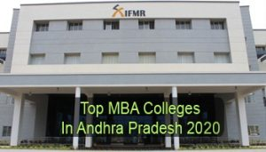 Top MBA Colleges in Andhra Pradesh 2020