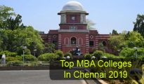 Top MBA Colleges in Chennai 2019