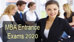MBA-Entrance exams 2020