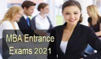 MBA-Entrance exams 2021