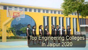 Top Engineering Colleges in Jaipur 2020