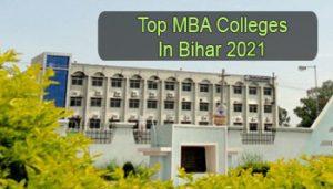 Top MBA Colleges in Bihar 2021
