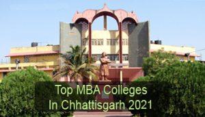 Top MBA Colleges in Chhattisgarh 2021