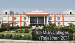 Top MBA Colleges in Rajasthan 2021