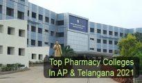 Top Pharmacy Colleges in AP & Telangana 2021