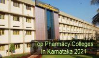 Top Pharmacy Colleges in Karnataka 2021