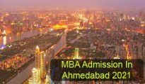 MBA Admission in Ahmedabad 2021