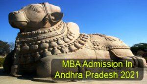 MBA Admission in Andhra Pradesh 2021