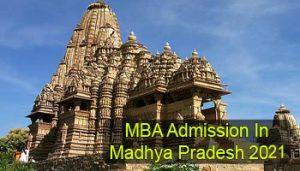 MBA Admission in Madhya Pradesh 2021