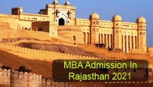 MBA Admission in Rajasthan 2021
