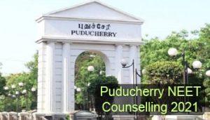 Puducherry NEET Counselling 2021