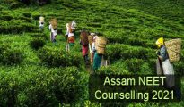 Assam NEET Counselling 2021