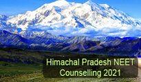 Himachal Pradesh NEET Counselling 2021