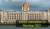 MBBS Admission in Mumbai 2021