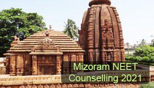 Mizoram NEET Counselling 2021