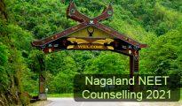 Nagaland NEET Counselling 2021